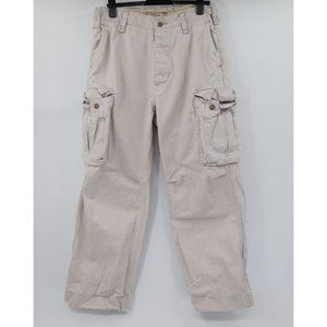 abercrombie fitch men 34 6 pocket twill cargo pant